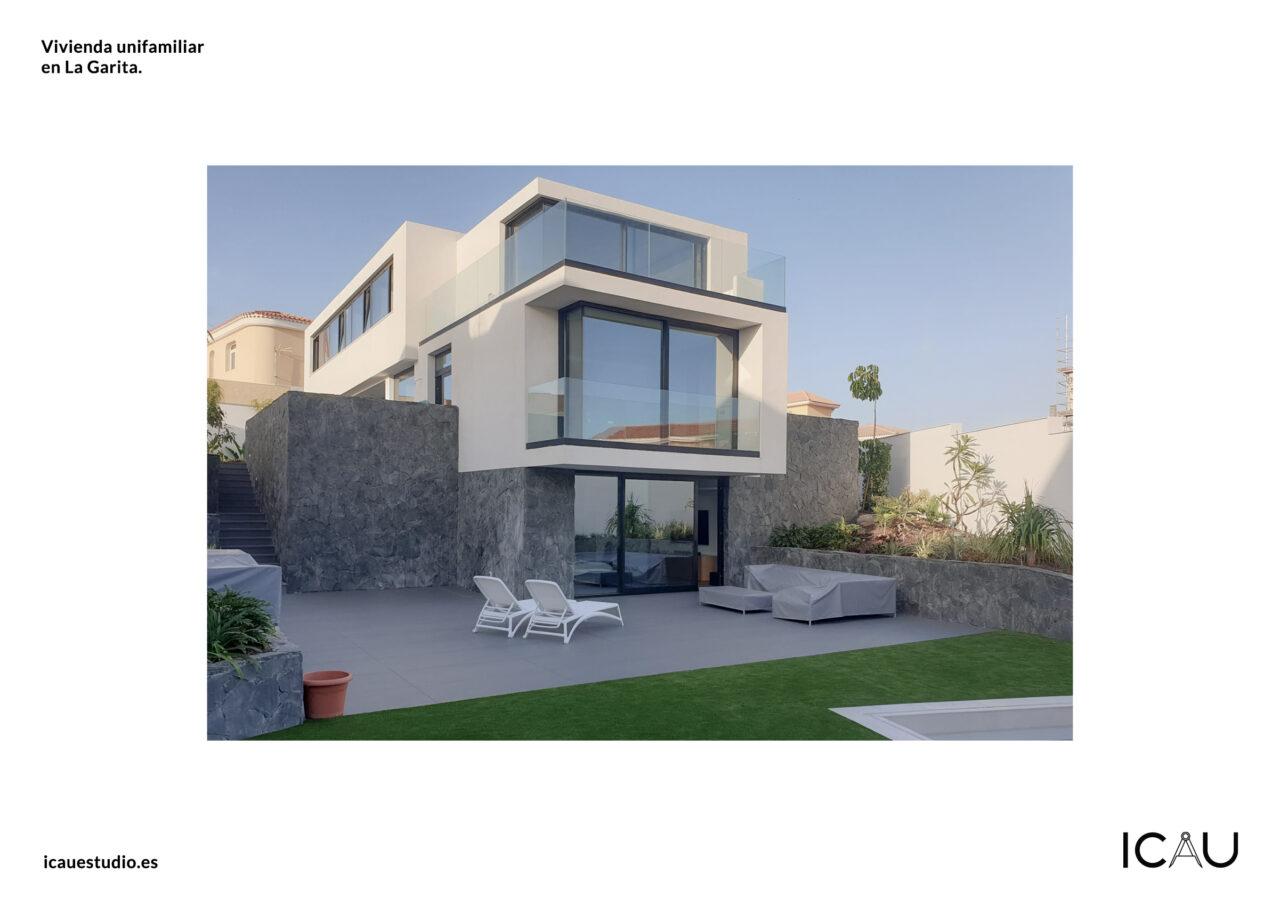 ICAU Estudio – Proyecto vivienda unifamiliar Calle Nardo La Garita