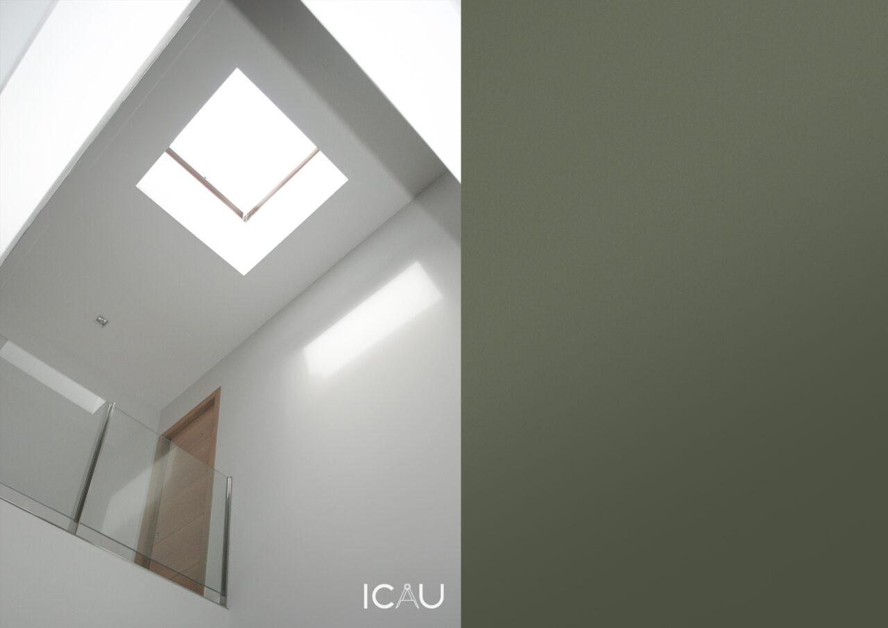 ICAU estudio – Vivienda unifamiliar calle zurbaran 8
