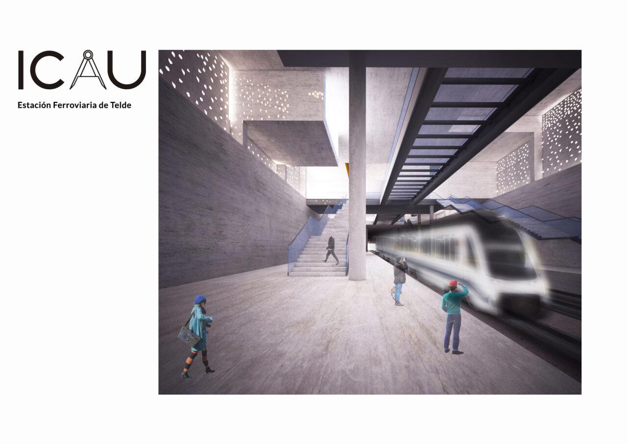 ICAU estudio y consultores estación Ferroviaria Telde 10