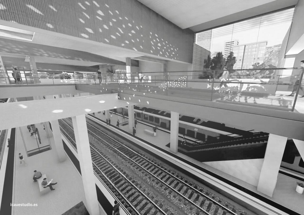 ICAU estudio y consultores estación Ferroviaria de Telde 6