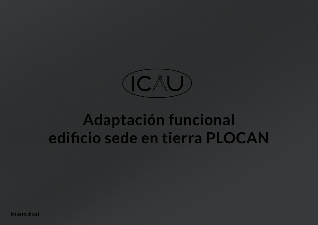 ICAU proyecto adaptación sede PLOCAN 2